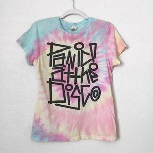 Tops - Panic At The Disco! Tie Dye tee